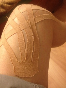 Decorative Knee Tape